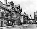 Picture of Cheshire - Chester, Foregate Street c1928 - N833