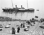 Picture of Devon - Clovelly Paddle Steamer c1890s - N353