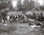 Picture of Kent - Picnickers c1890s - N260