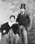 Picture of Misc - Victorian Couple - c1860s - N2054