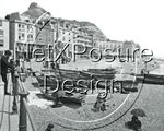 Picture of Sussex - Hastings Beach c1890s - N286