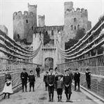 Picture of Wales - Conway, Castle & Bridge c1901 - N1725