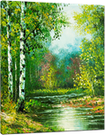 Picture of Landscapes - Colourful River Scene - O077