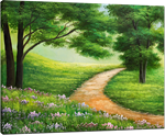 Picture of Landscapes - Country Path Scene - O025